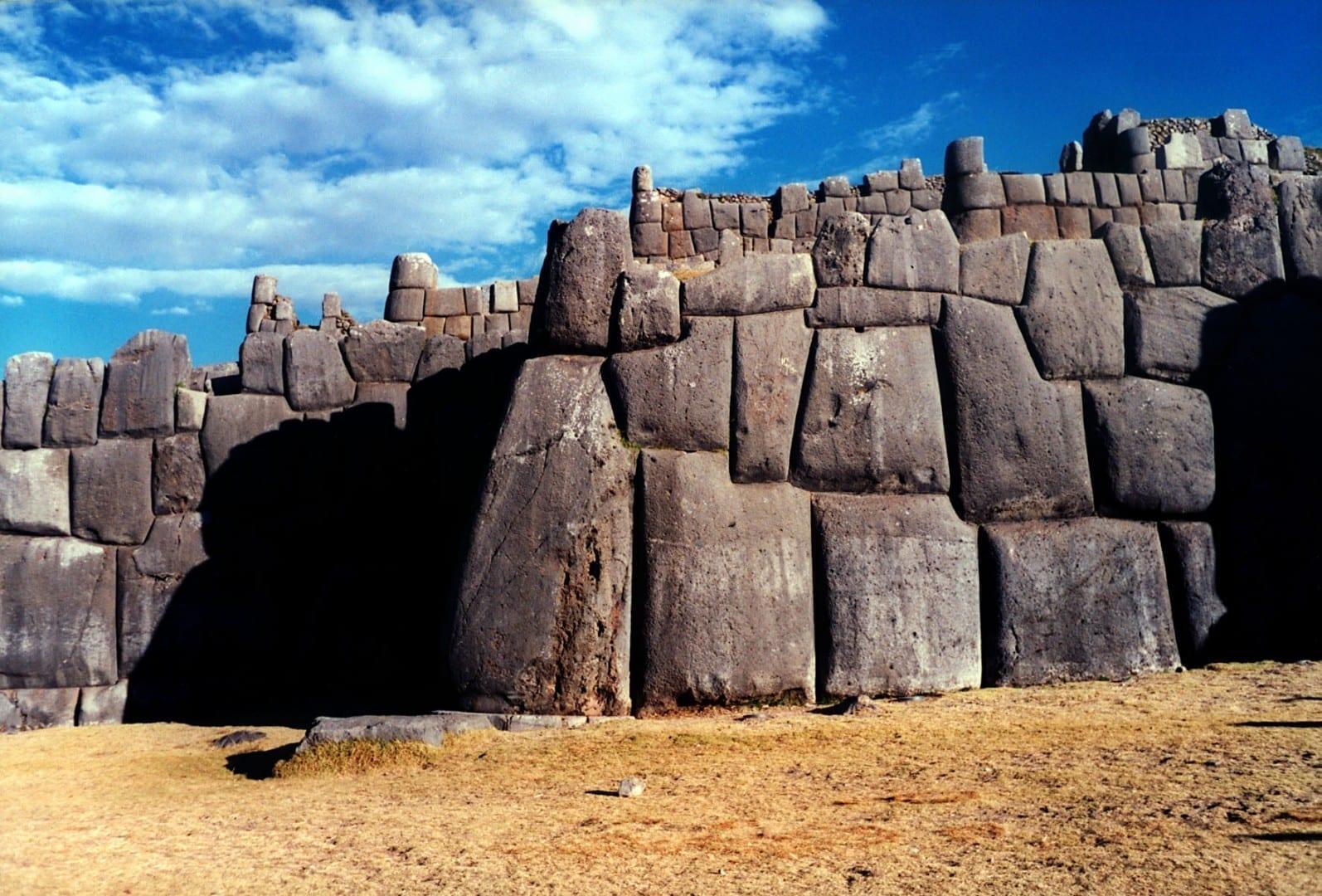 Las increíbles paredes incas de Sacsayhuamán Cuzco Perú