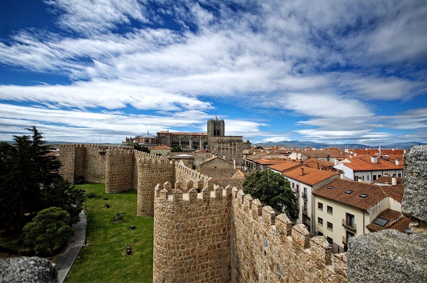Las murallas de Ávila Ávila España