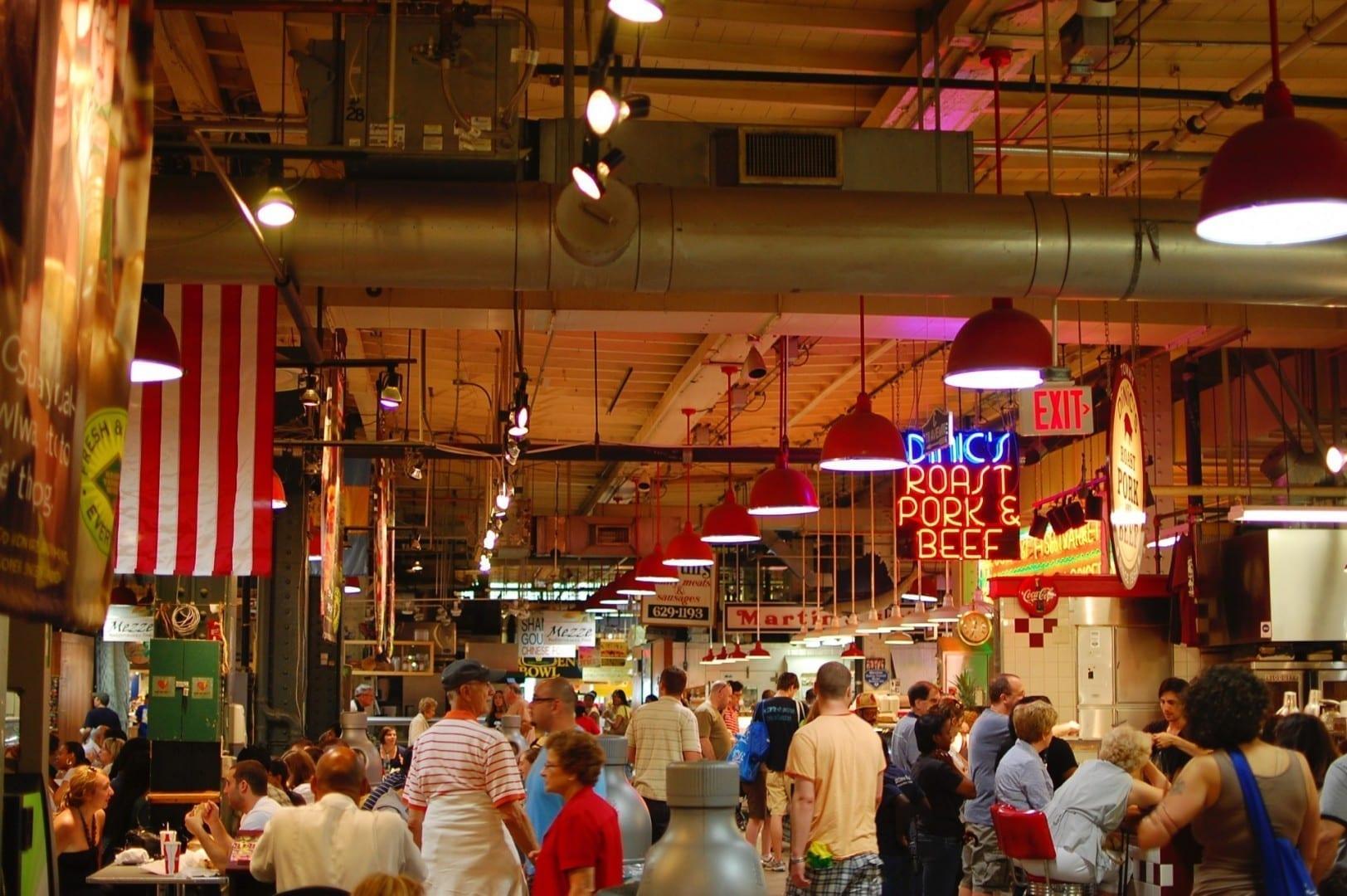 Leer el mercado de la terminal Filadelfia Estados Unidos
