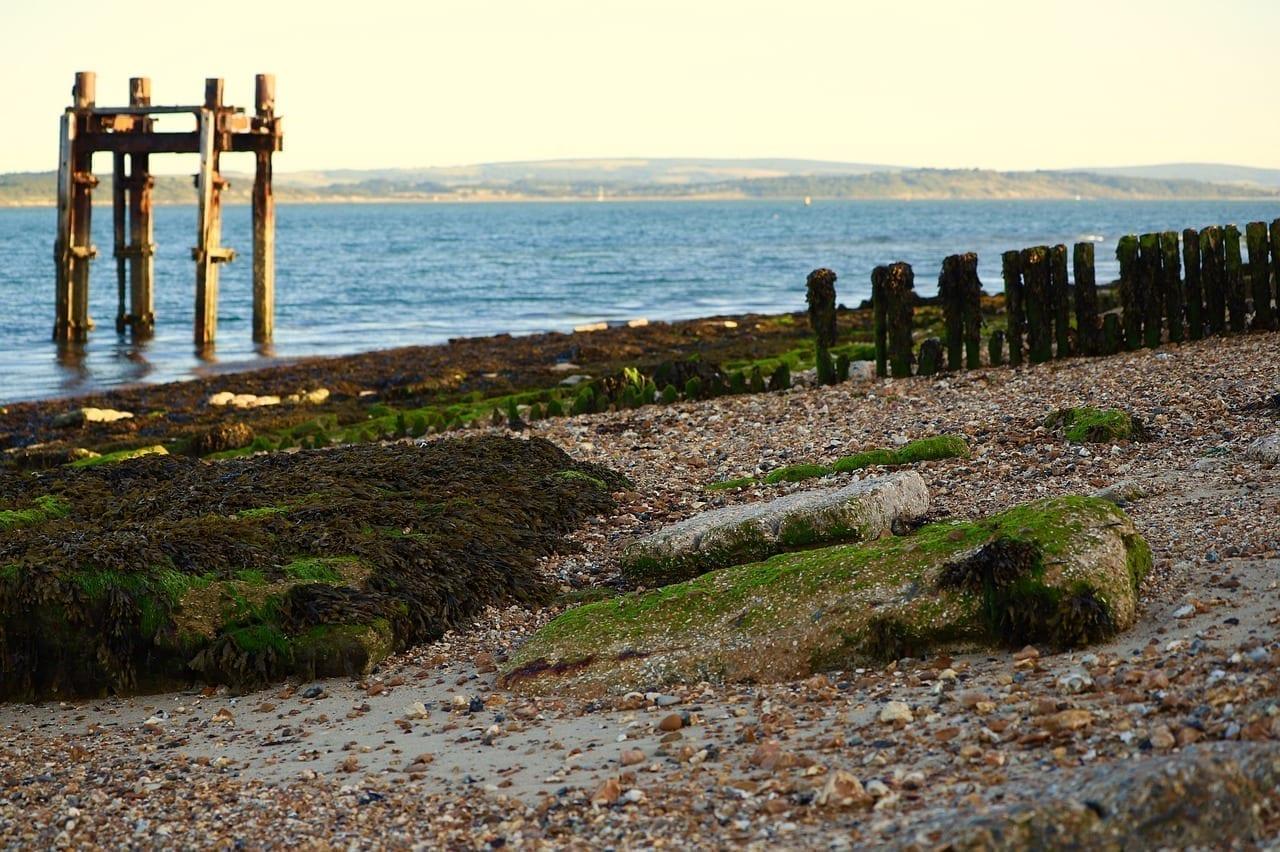 Lepe Playa Southampton Reino Unido