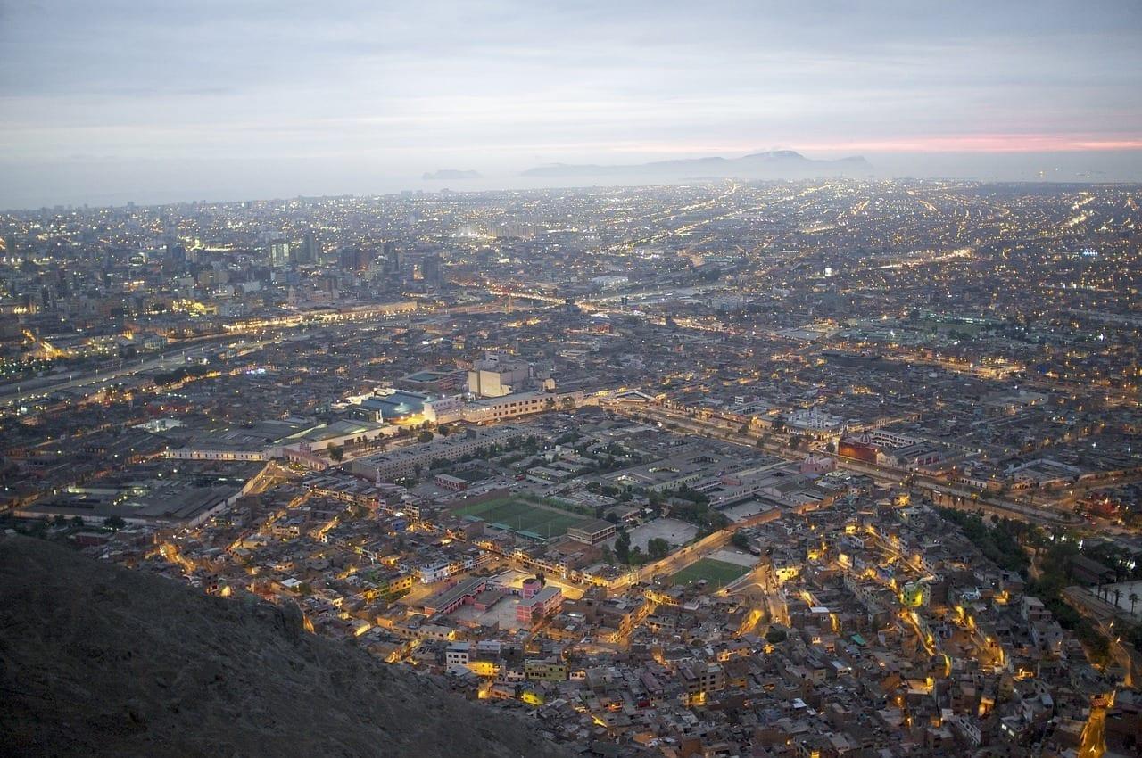 Lima Paisaje Urbano Ciudad Perú