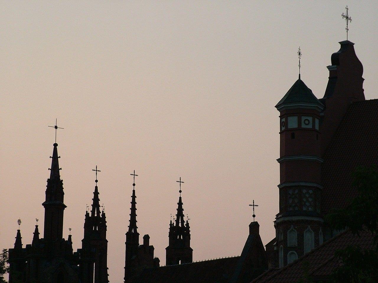 Lituania Vilnius Barrio Gótico Lituania
