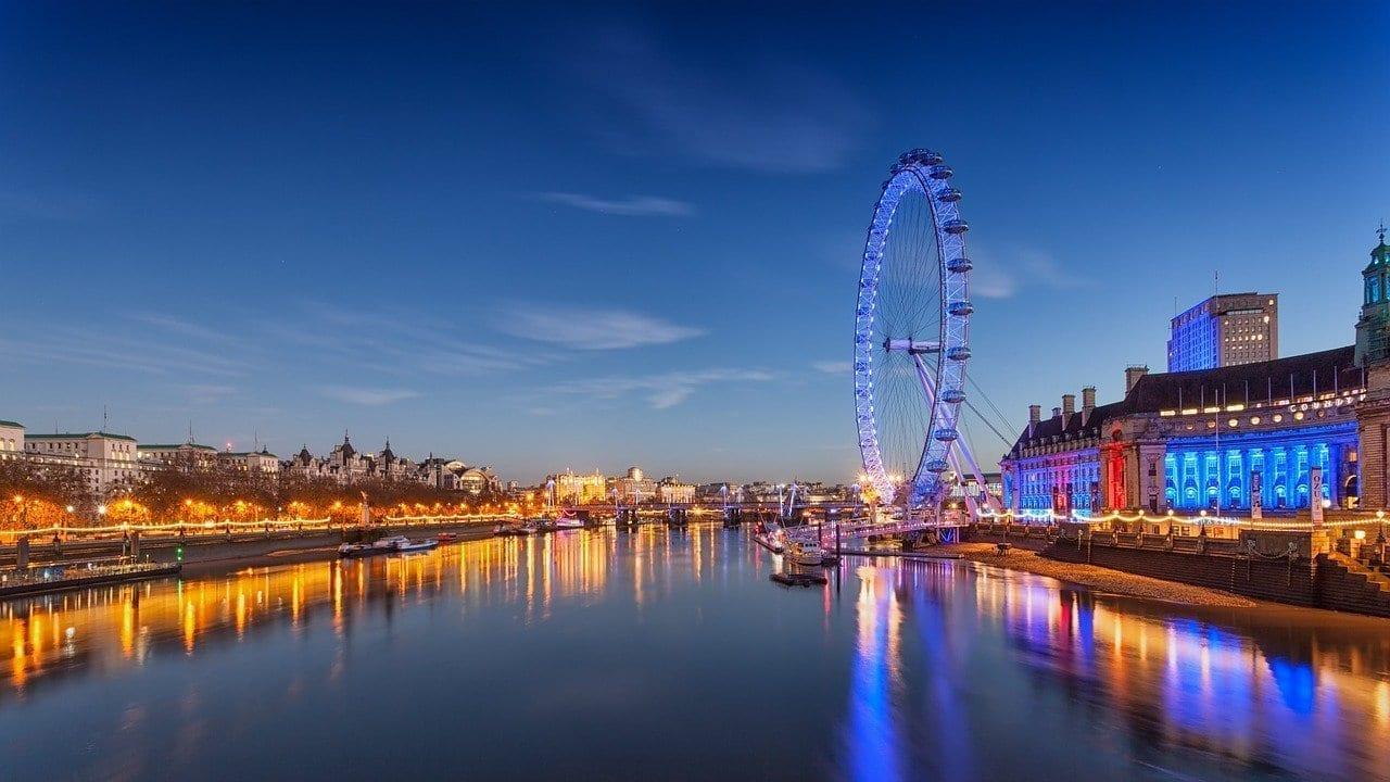 London Eye Rueda De La Fortuna Londres Reino Unido