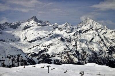 Los Alpes Zermatt Nieve Suiza