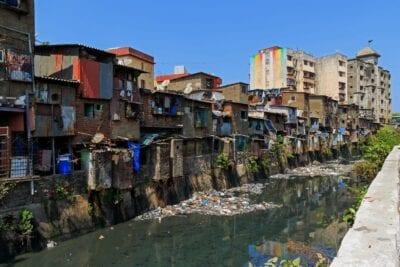 Los barrios bajos de Mumbai Bombay India