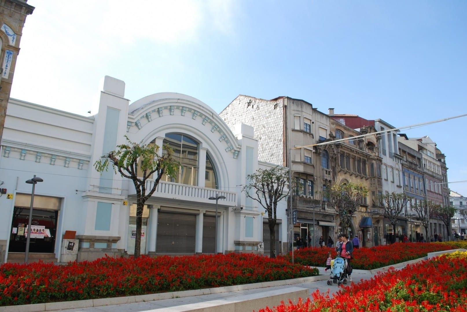 Los edificios históricos de la Avenida da Liberdade Braga Portugal