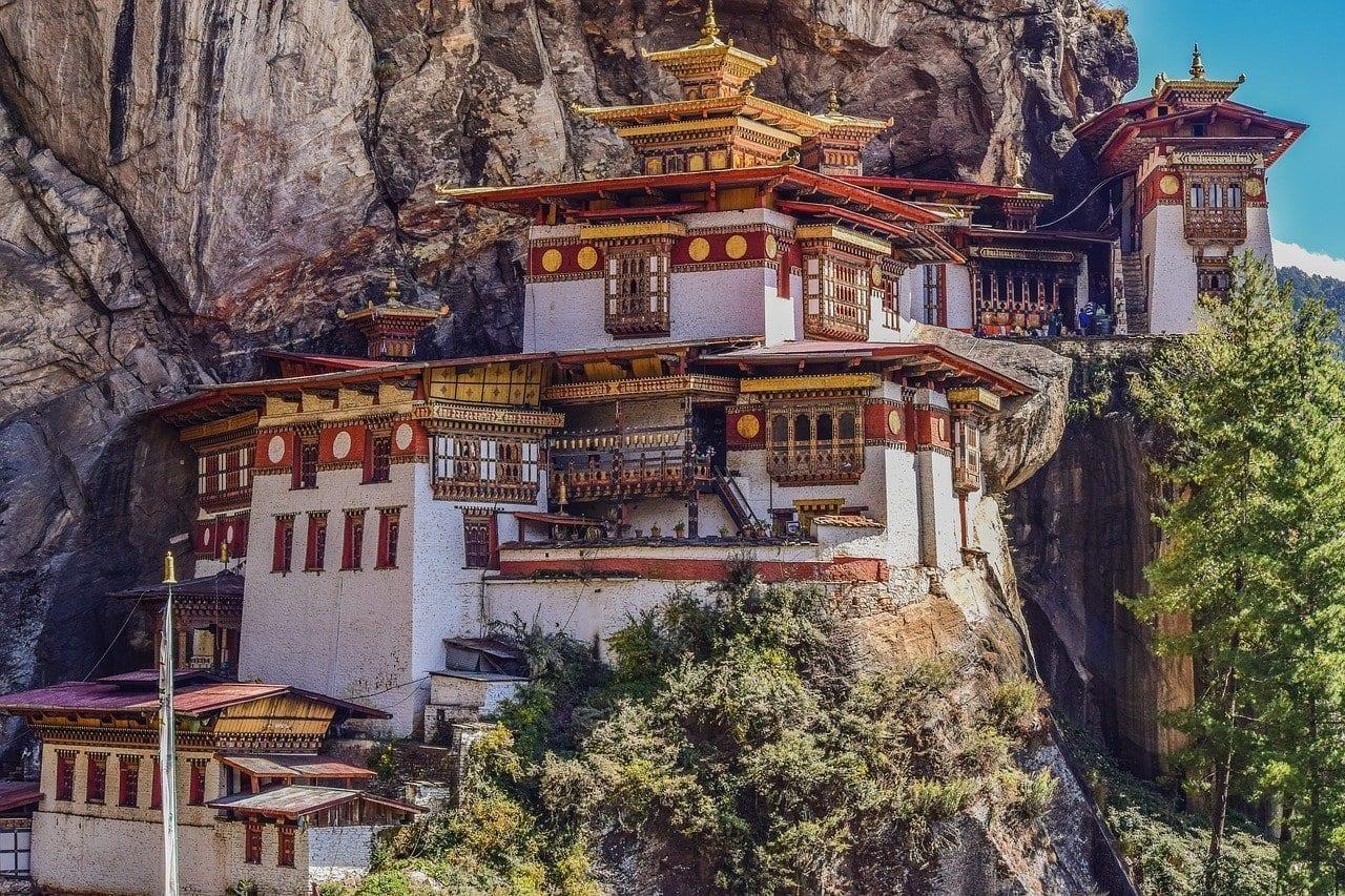 Los Tigres Del Nido Monasterio Bután Filipinas
