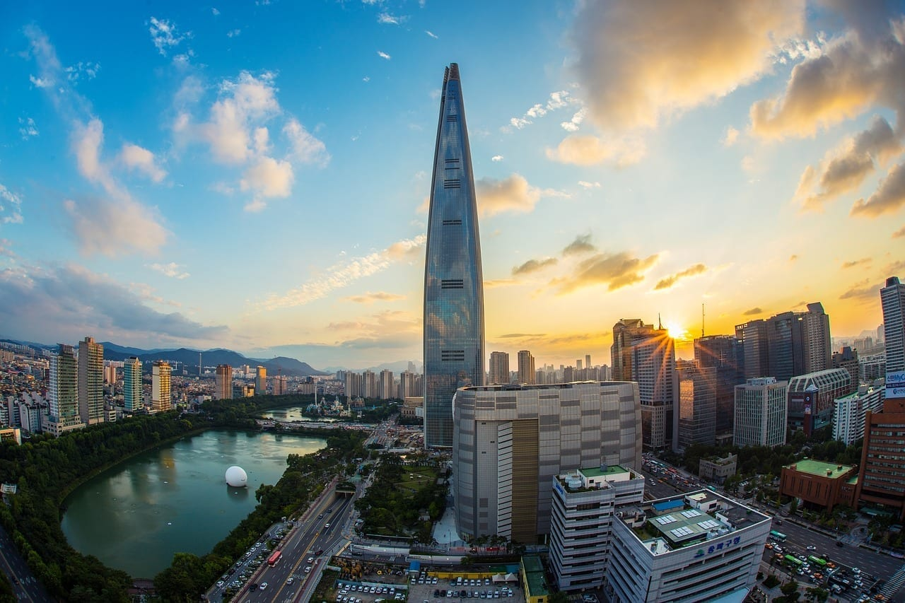 Lotte World Tower Seúl República De Corea Corea del Sur