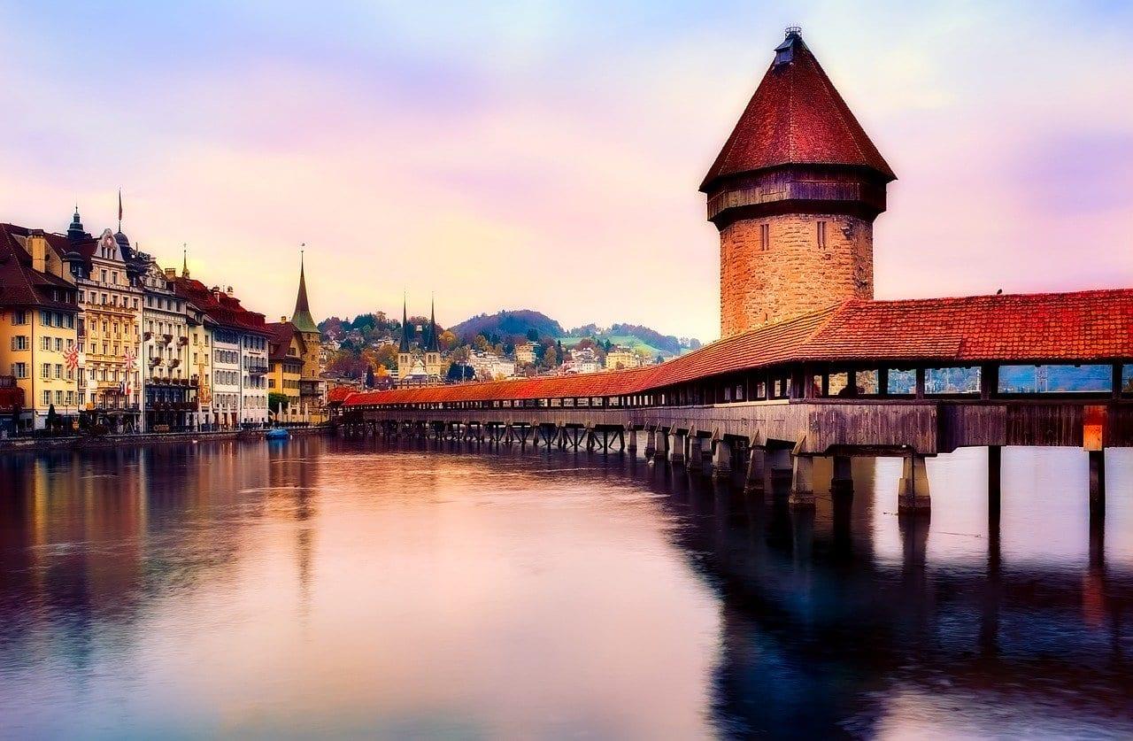 Lucerna Suiza Puente Suiza