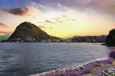 Lugano Lago Suiza Suiza