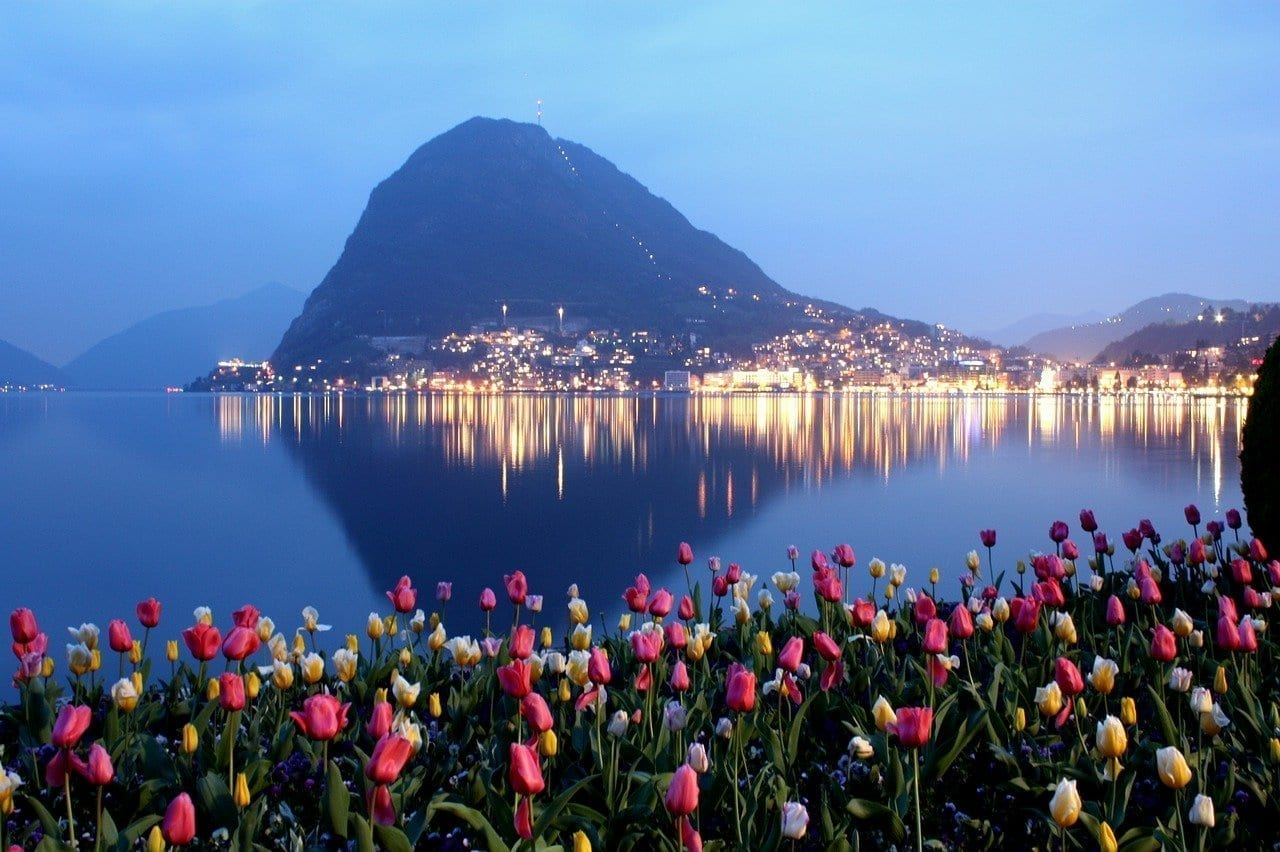 Lugano Ticino San Salvatore Suiza
