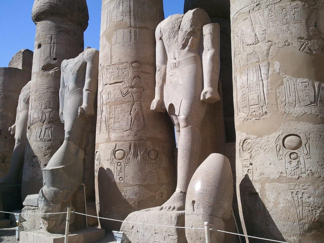 Luxor Luxor Egipto Templo Egipto