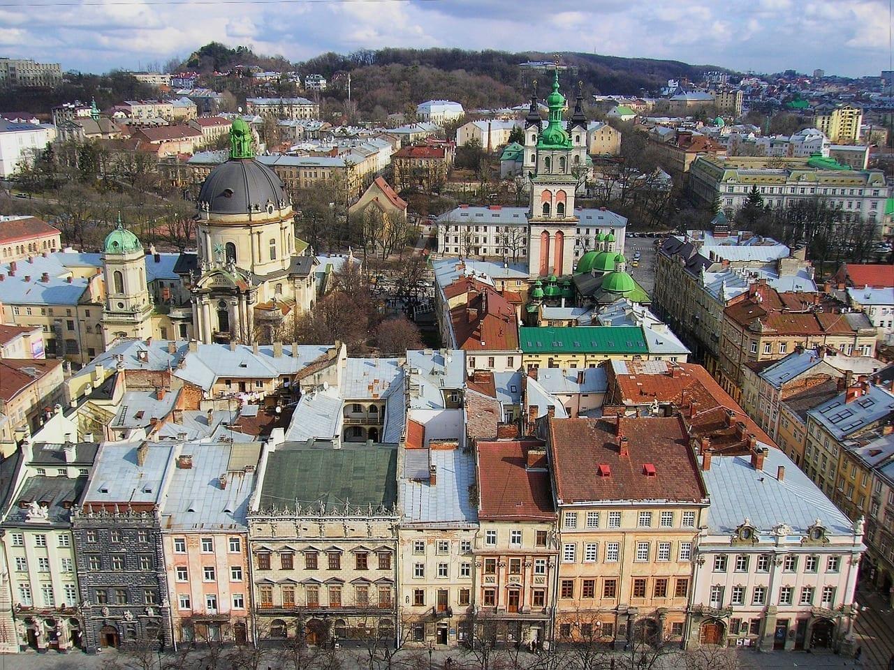 Lviv Ciudad Ucrania Ucrania