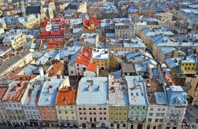 Lviv Ucrania Ciudad Ucrania