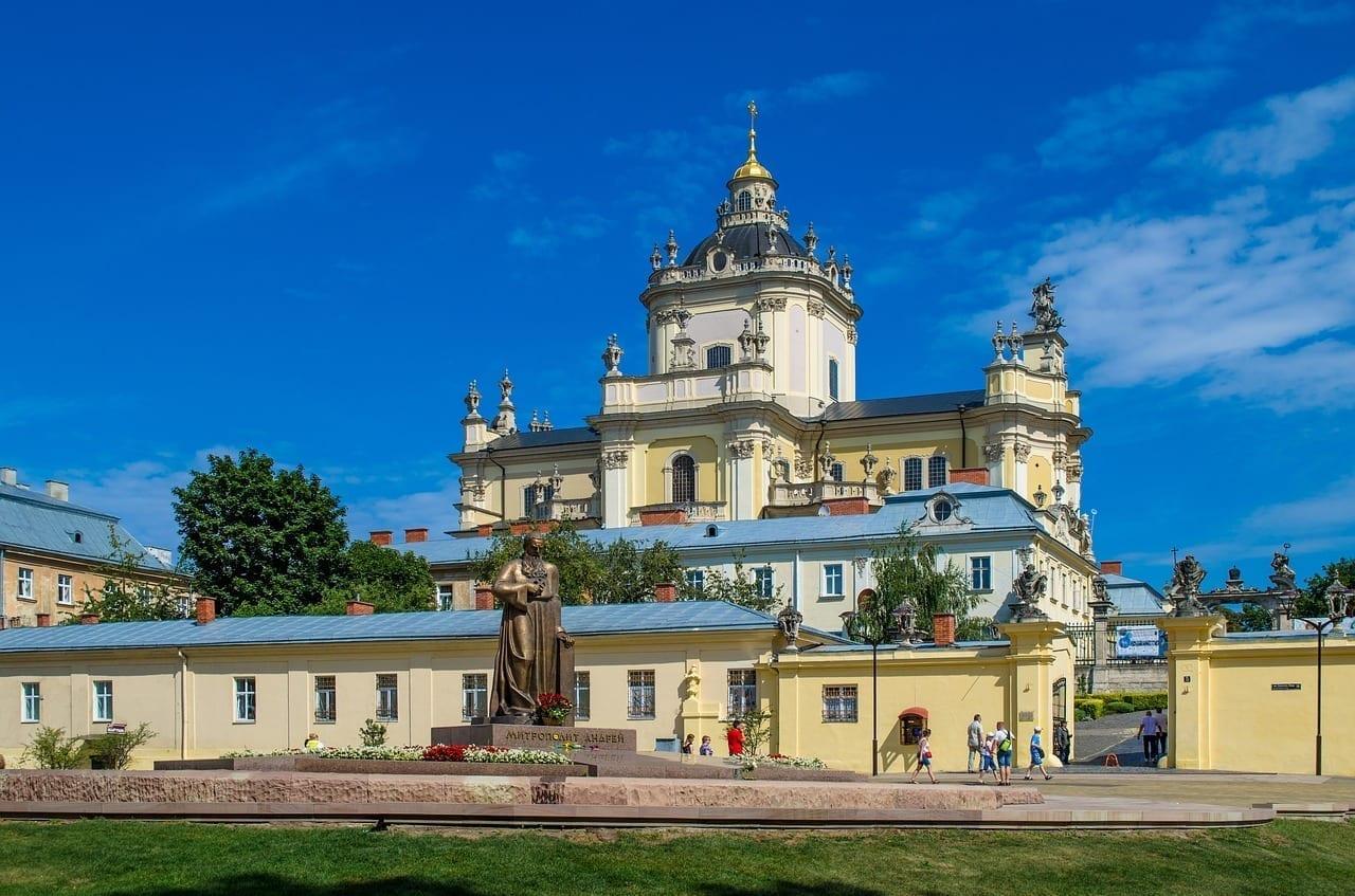 Lviv Ucrania Iglesia Ucrania