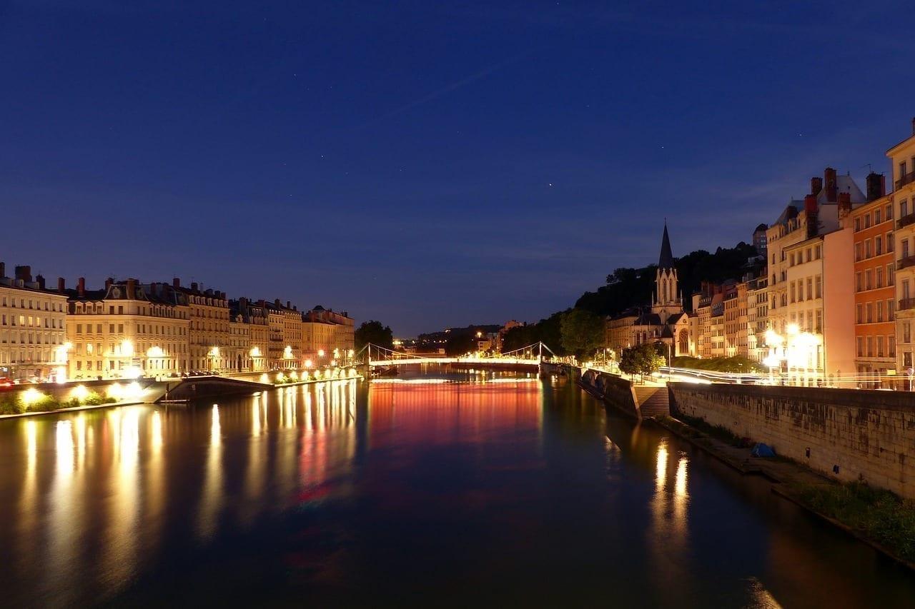 Lyon Saint-georges Saone Francia