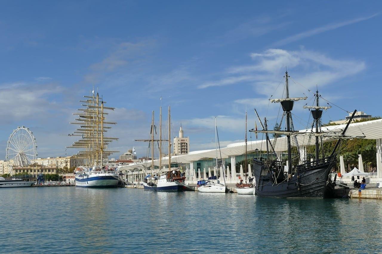Málaga Puerto Andalucía España
