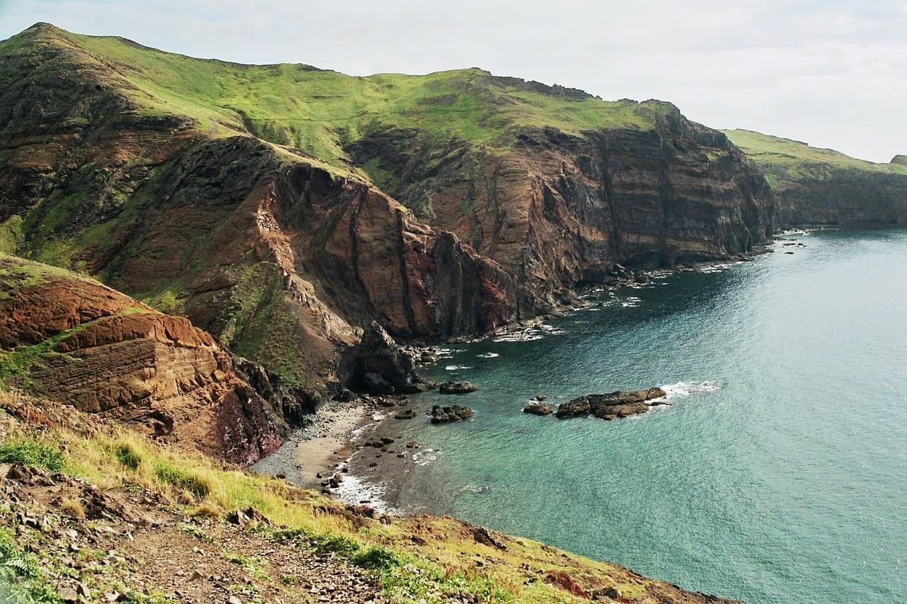 Madeira Costa Del Este Paisaje Portugal