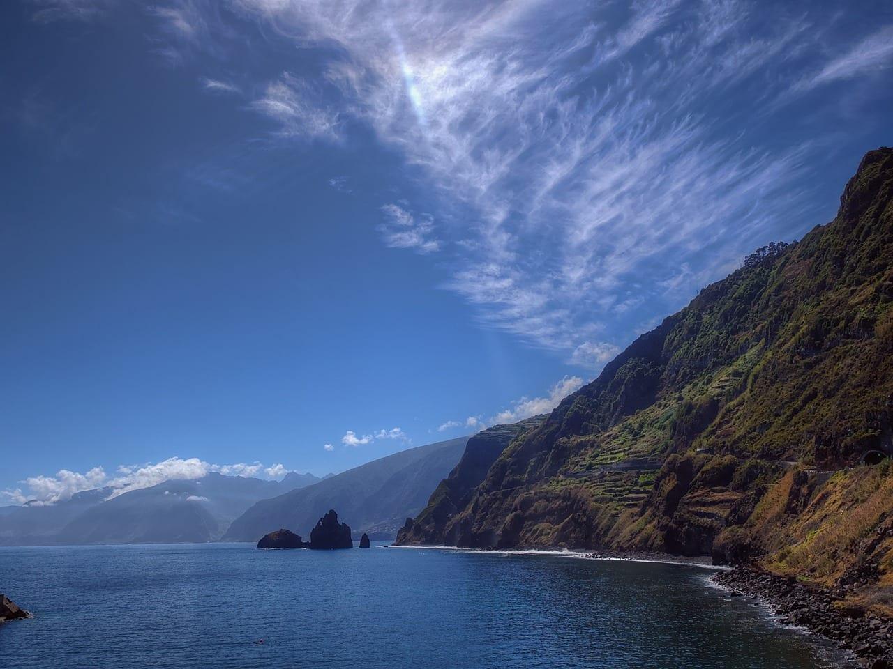 Madeira Costa Rock Portugal