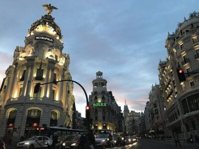 Madrid Amiyoguis Atardecer España