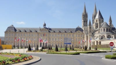 Mairie (Ayuntamiento) Caen Francia