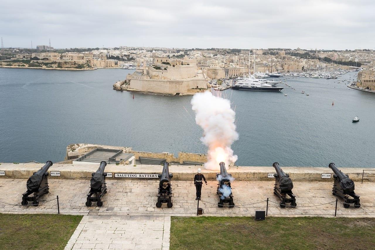 Malta Valletta De La Ciudad Malta