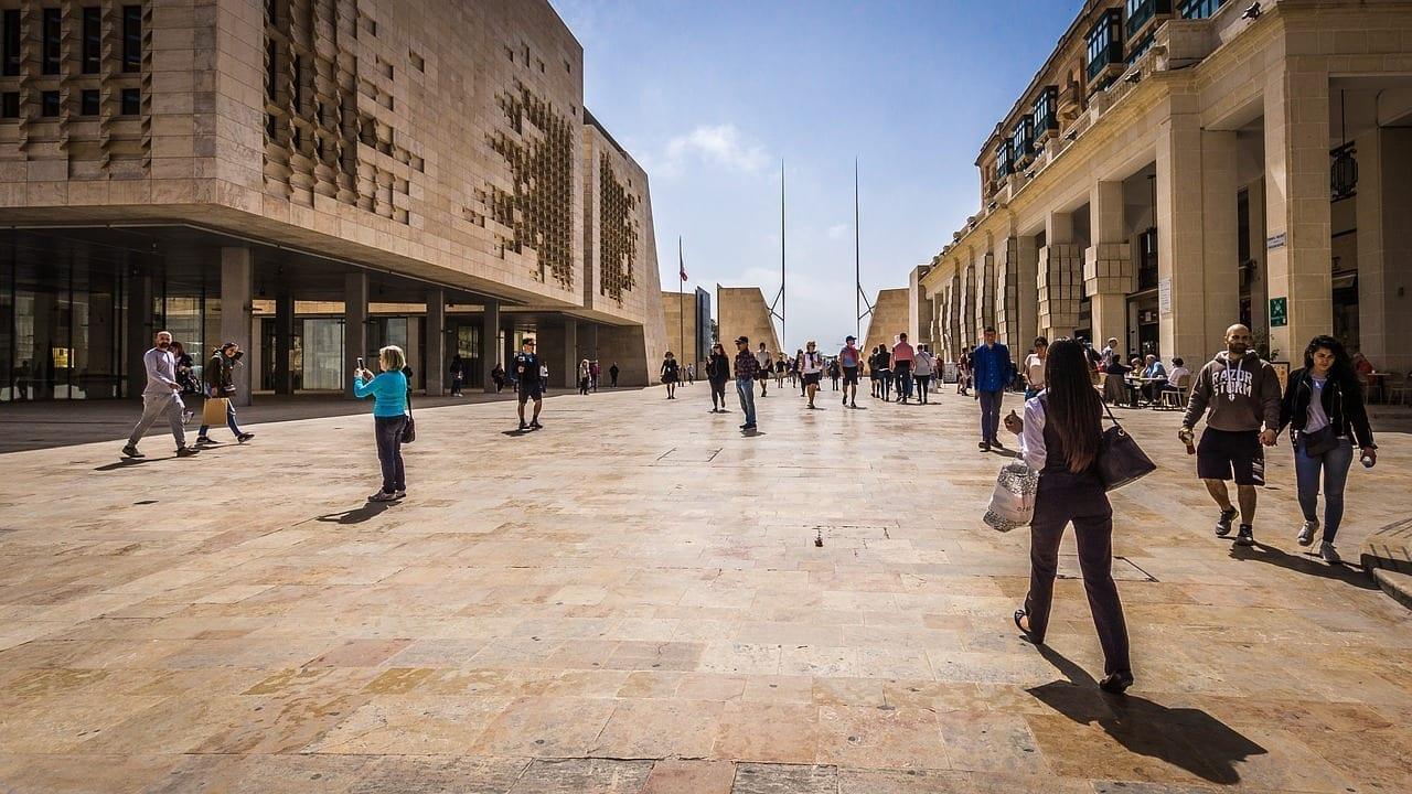 Malta Valletta Ir De Compras Malta