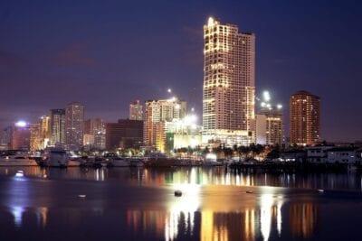 Manila Bahía De Manila Gran Ciudad Filipinas