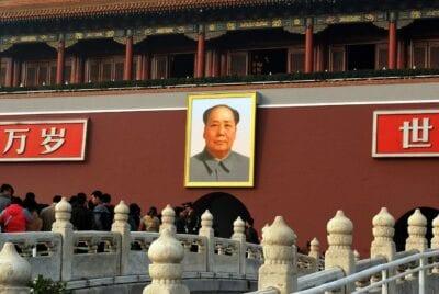 Mao Pekín Cuadrados China