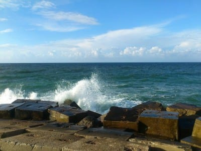 Mar Mediterráneo Alejandría Egipto