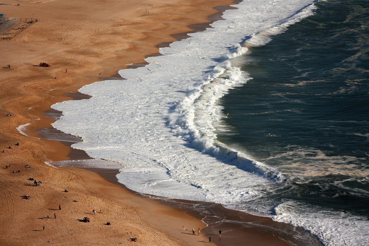 Mar Nazaret Olas Israel