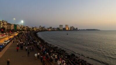 Marine Drive Bombay India