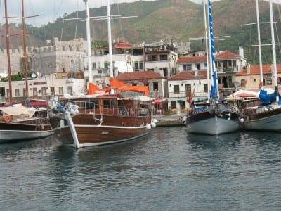 Marmaris Turquía Puerto Turquía