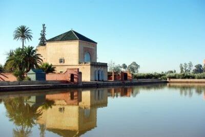 Marruecos Marrakech Palacio De La Menara Marruecos