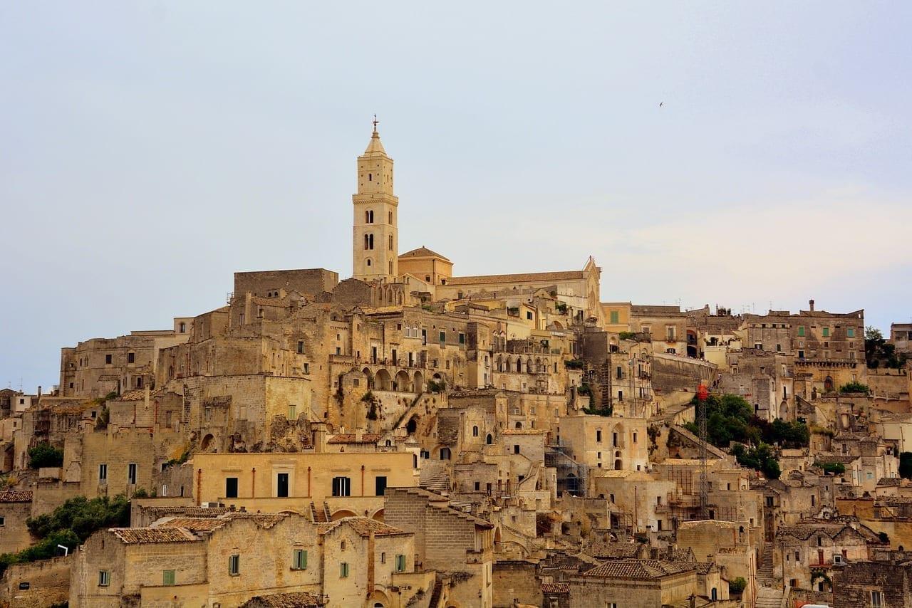 Matera Casas Viejo Italia