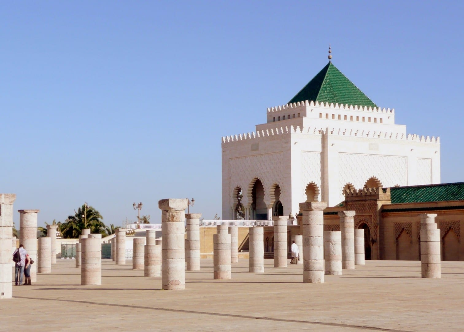 Mausoleo de Mohammed 5 Rabat Marruecos