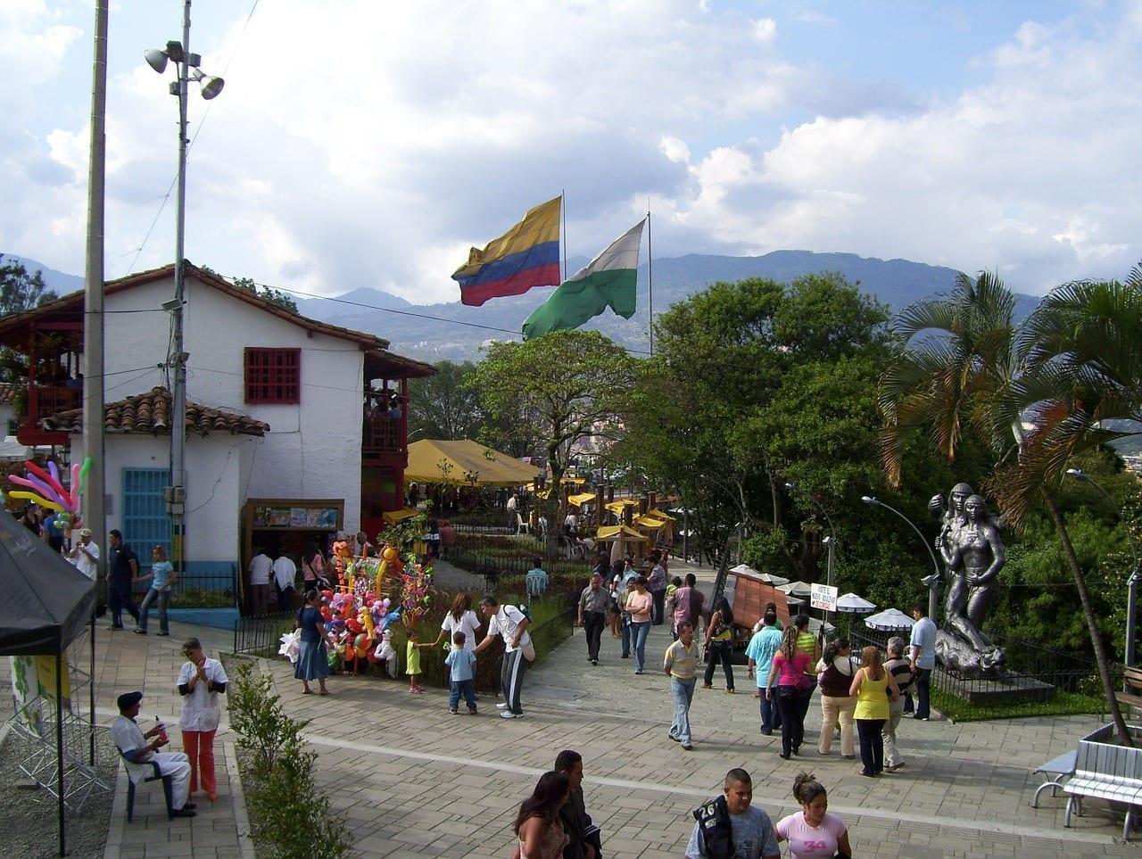 Medellín Colombia Pueblito Paisa Colombia