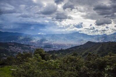 Medellín Paisaje Ciudad Colombia