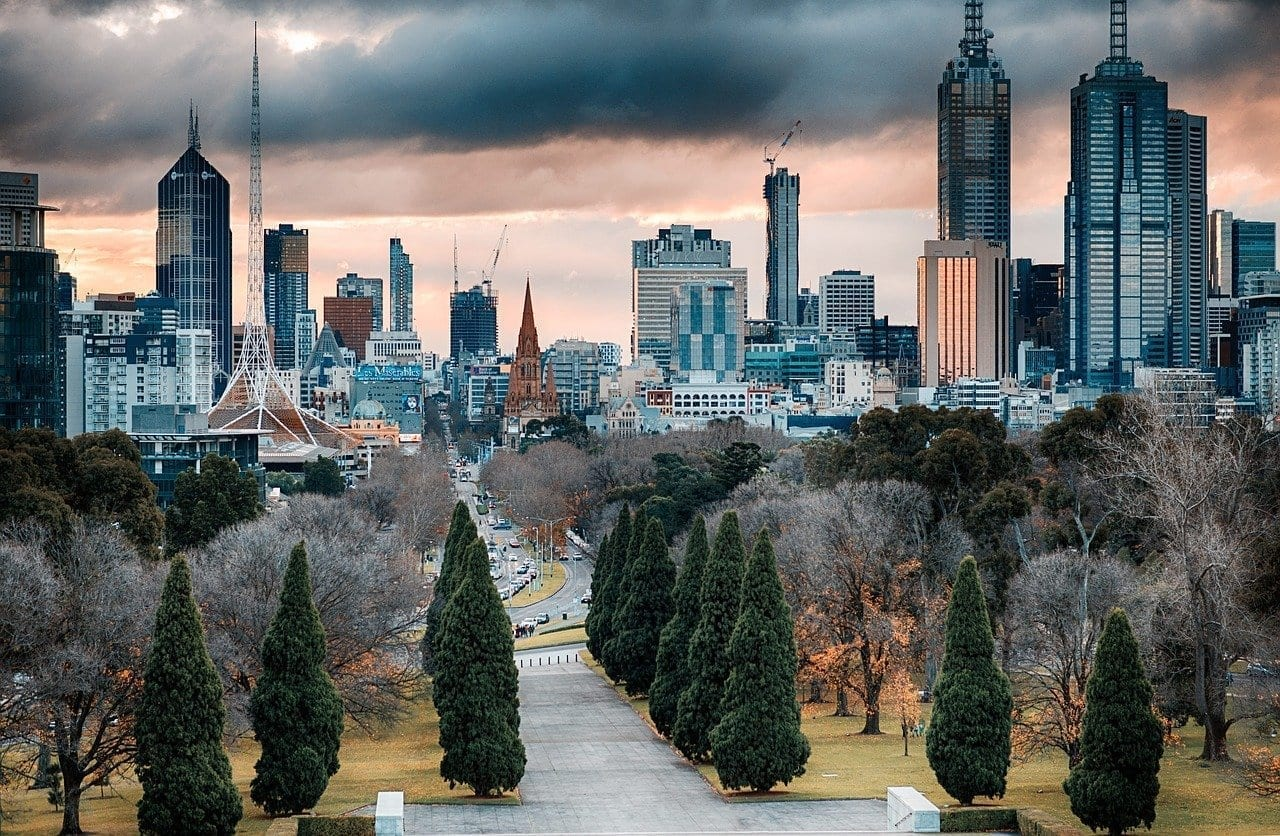 Melbourne Rascacielos Arquitectura Australia