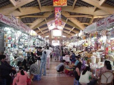 Mercado Ben Thanh Ho Chi Minh (Saigón) Vietnam