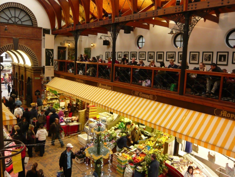 Mercado inglés Cork Irlanda