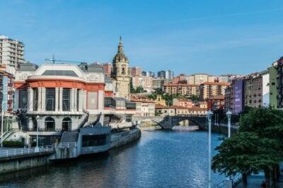 Mercado Paisaje Bilbao España