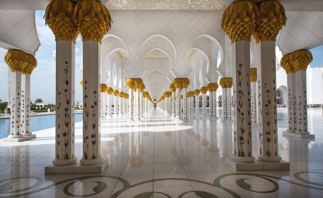 Mezquita Abu Dhabi De Viaje Emiratos Árabes Unidos