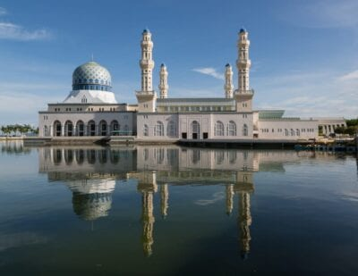 Mezquita de la ciudad de Kota Kinabalu Kota Kinabalu Malasia