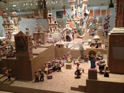 Miniaturas en el Museo de Arte Popular Internacional Santa Fe (Nuevo México) Estados Unidos