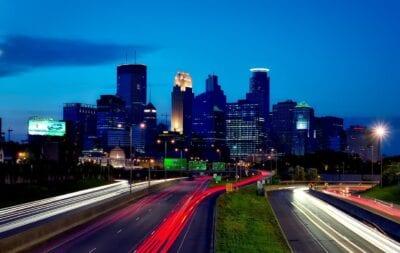 Minneapolis Minnesota Ciudad Estados Unidos