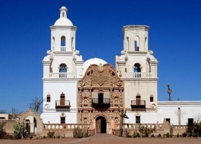 Misión de San Xavier del Bac Tucsón AZ Estados Unidos