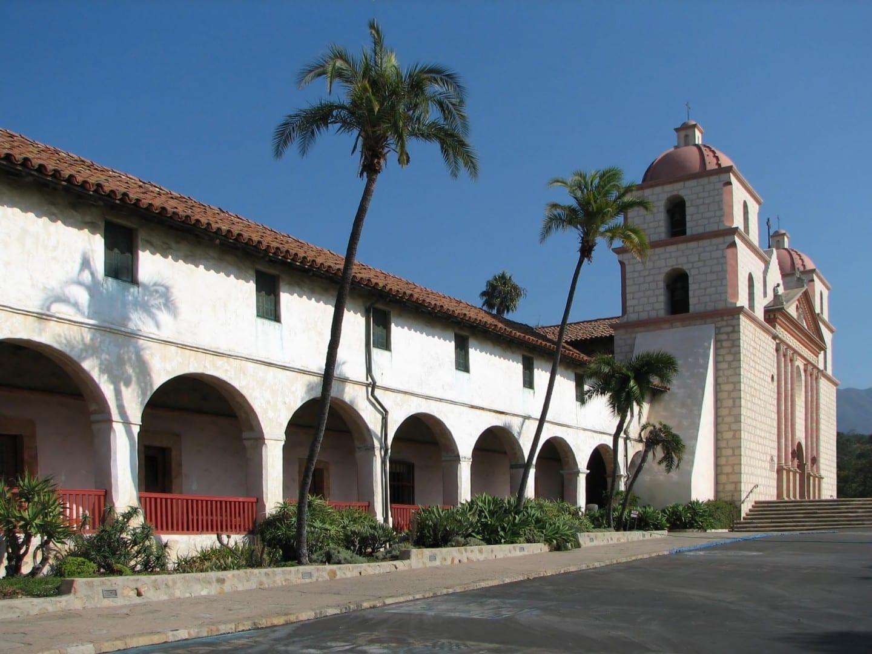 Misión Santa Bárbara Santa Barbara CA Estados Unidos