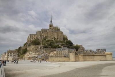 Mont Saint Michel Abadía Isla Francia