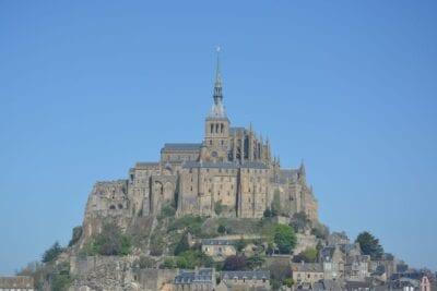 Mont Saint Michel Común De La Manche Normandía Francia